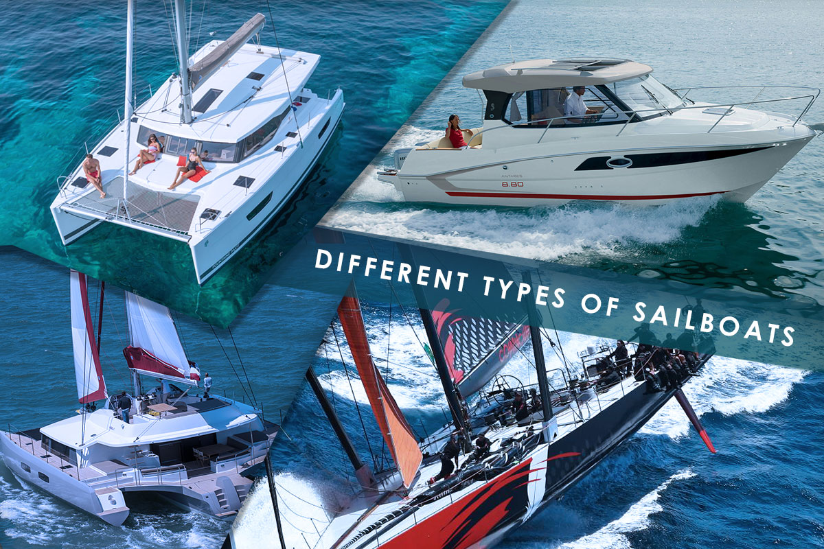 Different types of sailboats - Everything about Sailing