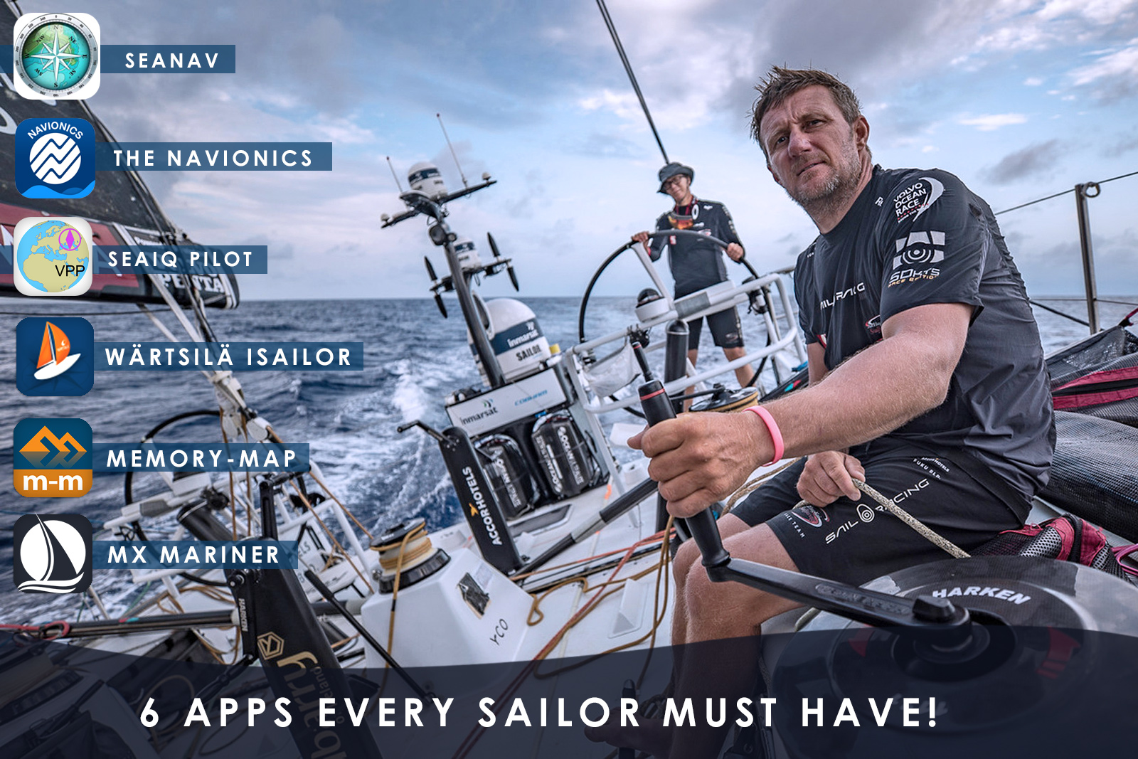 6 Apps Every Sailor Must Have!