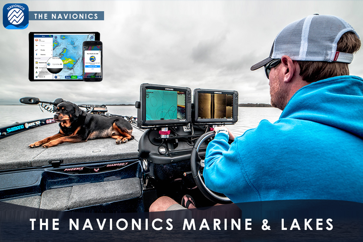 The Navionics Marine & Lakes