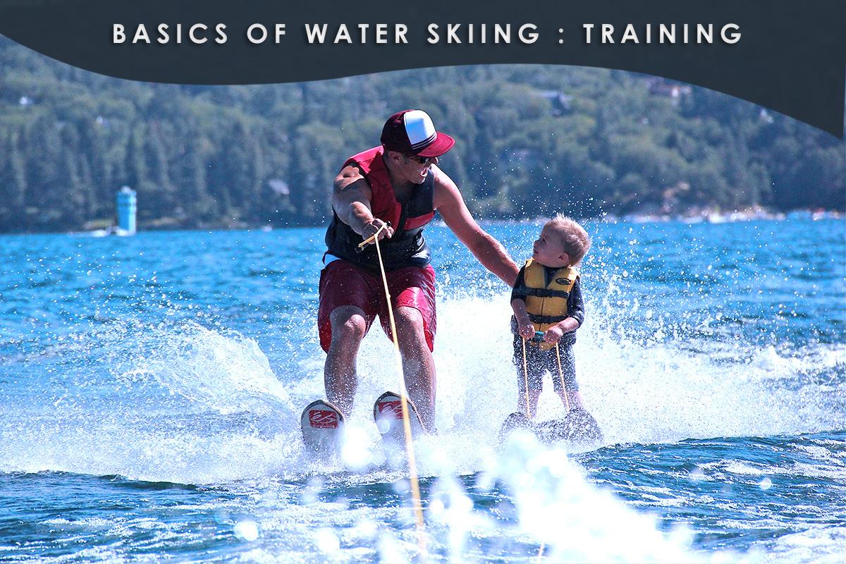 Basics of Water Skiing -Training