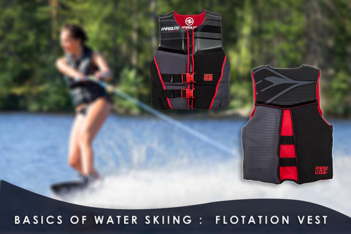 Basics-of-Water-Skiing- flotation vest