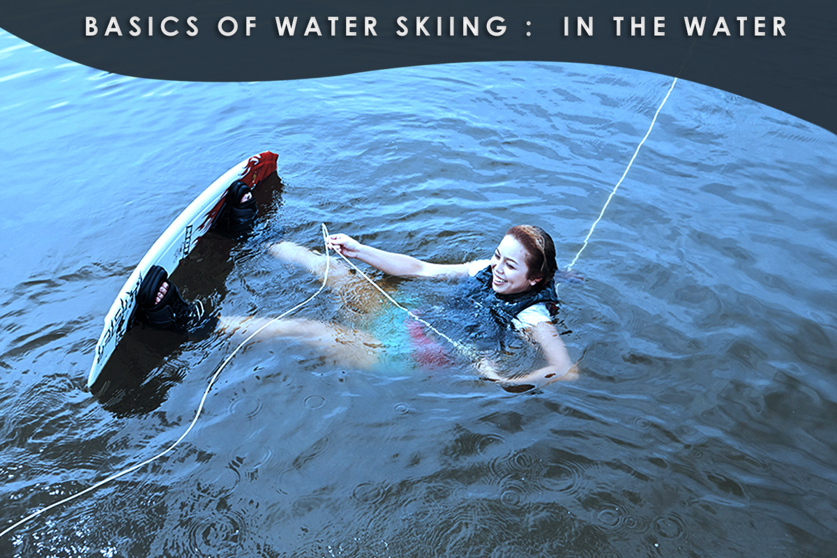 Basics-of-Water-Skiing- in the water
