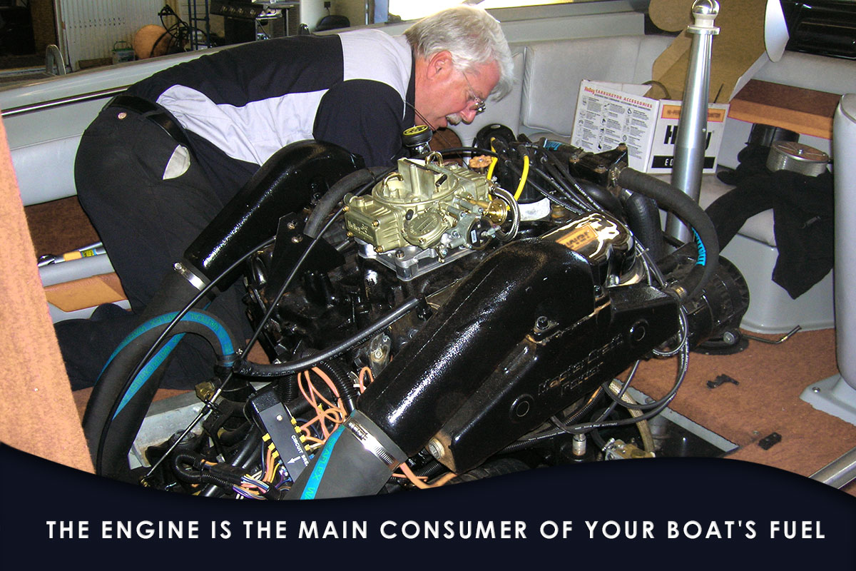 Boat Fuel Save-engine and prop
