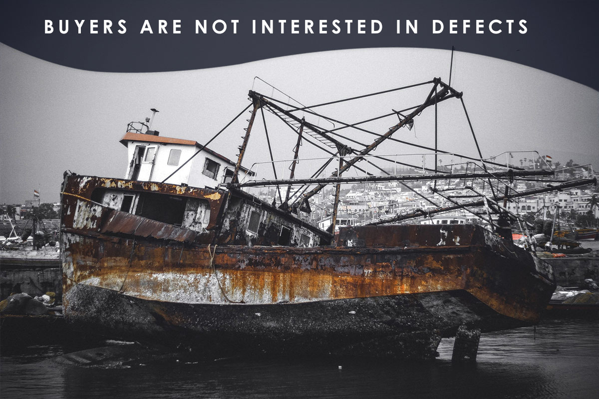 Buyers Are Not Interested in Defects