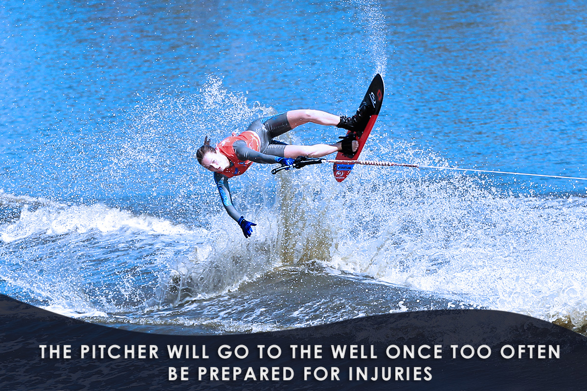 Basics-of-Water-Skiing-Be Prepared for Injuries