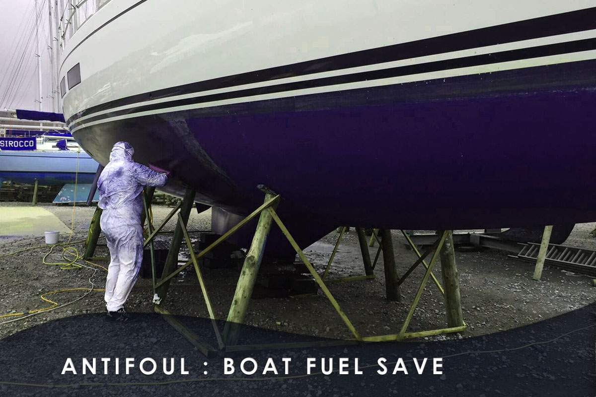 antifoul - Boat Fuel Save