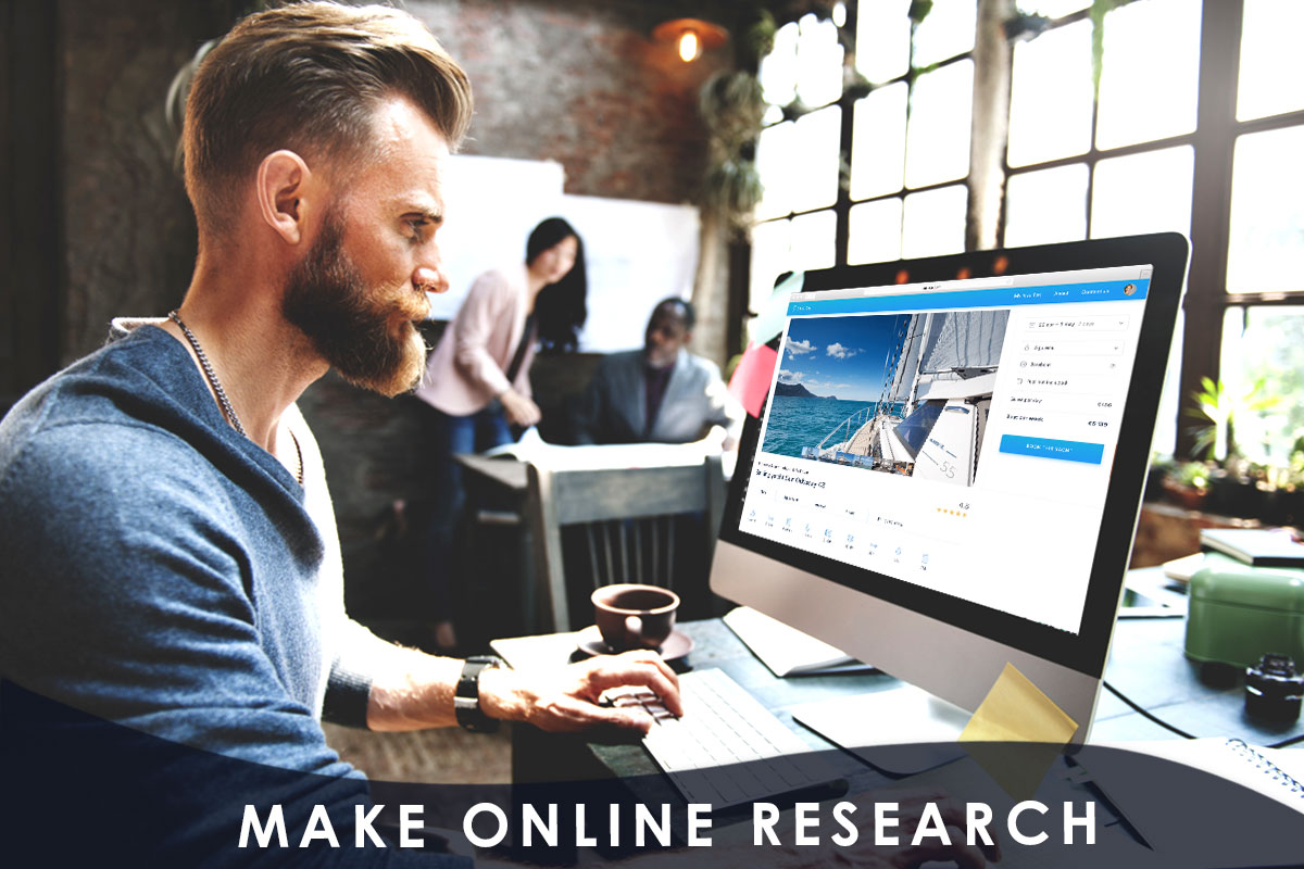 make online research