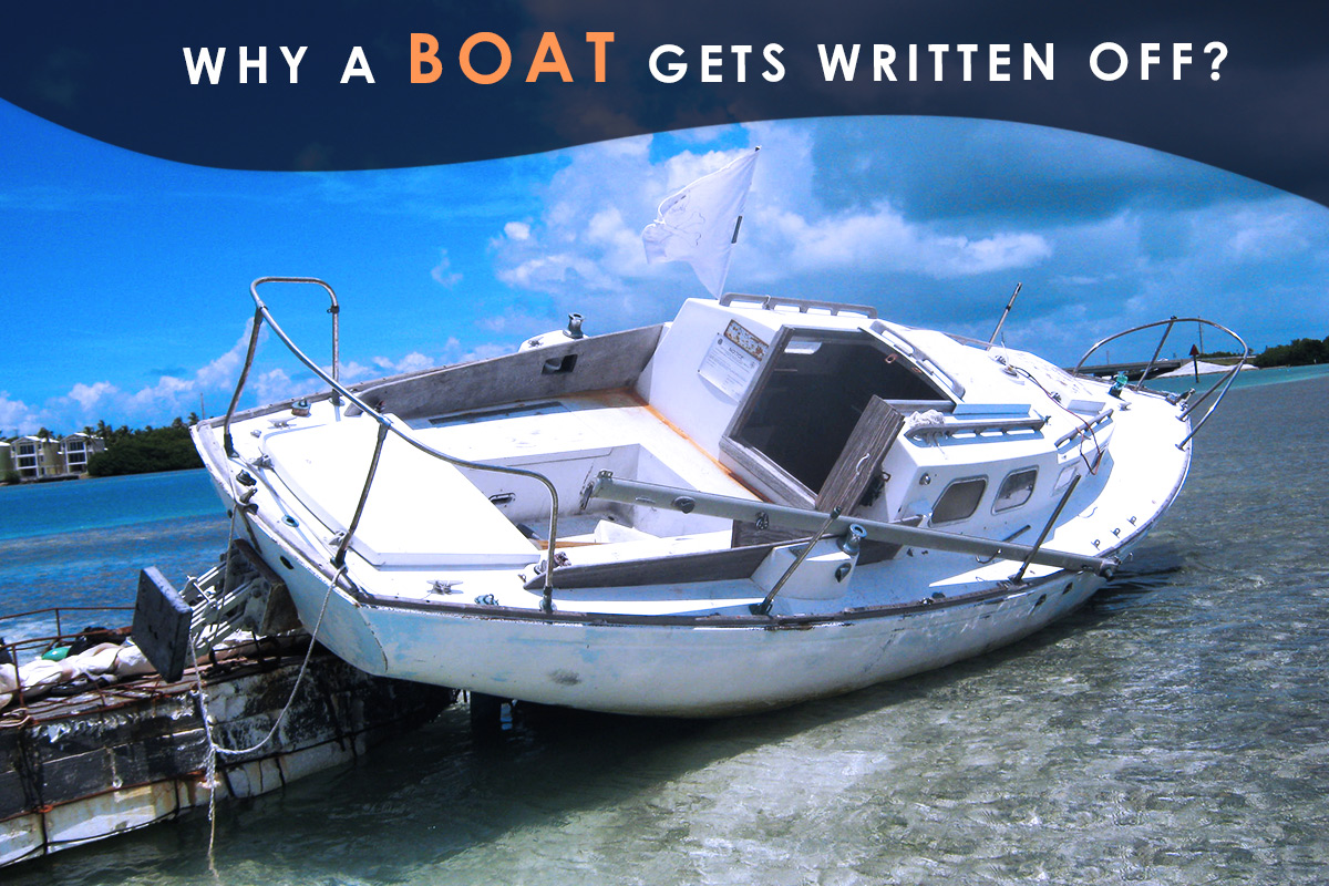 Why a Boat Gets Written Off