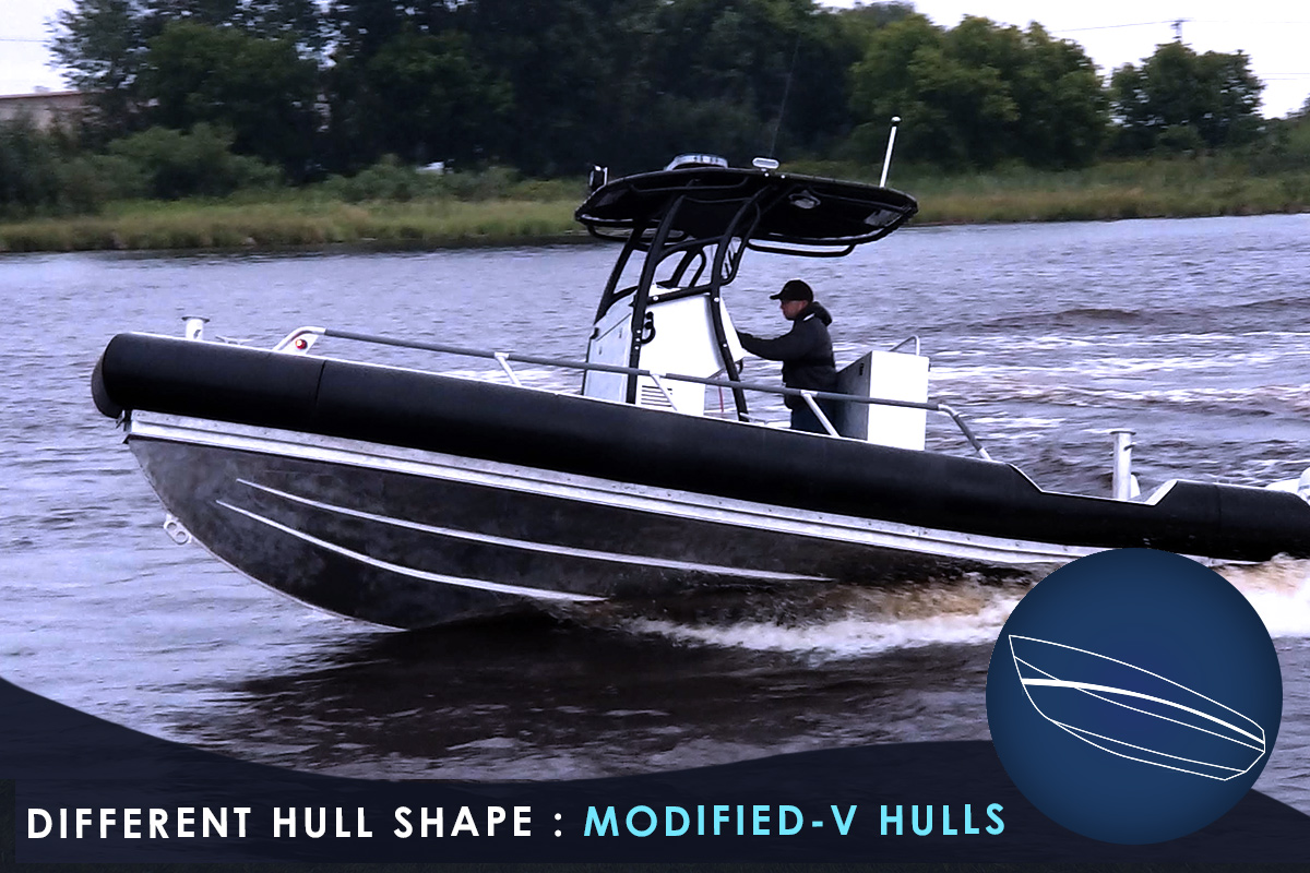 Different Hull Shape - Modified-V Hulls