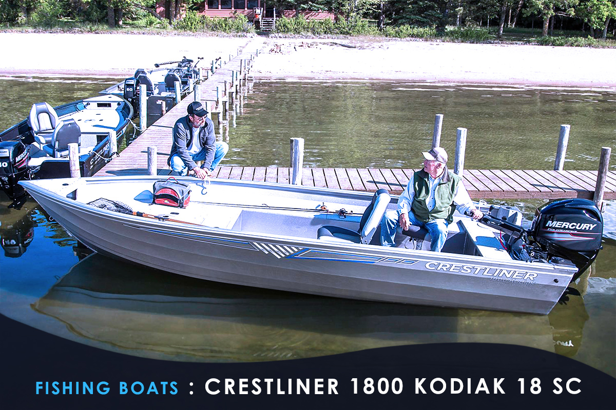 Fishing Boats : CRESTLINER 1800 KODIAK 18 SC