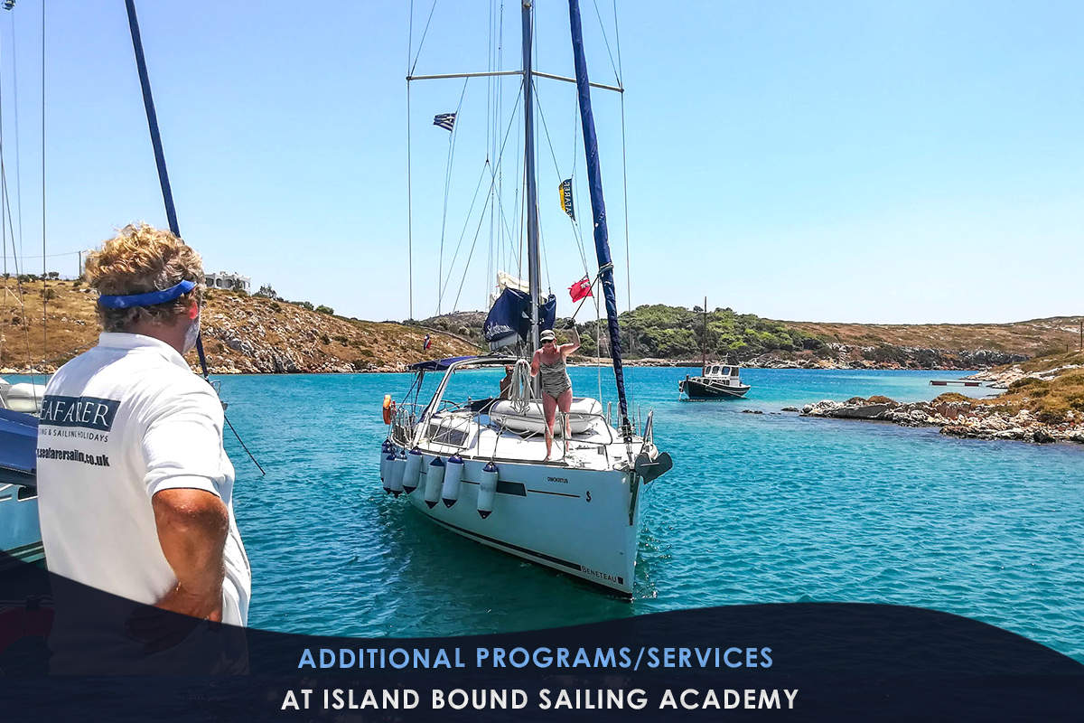 Additional Programs/Services at Island Bound Sailing Academy