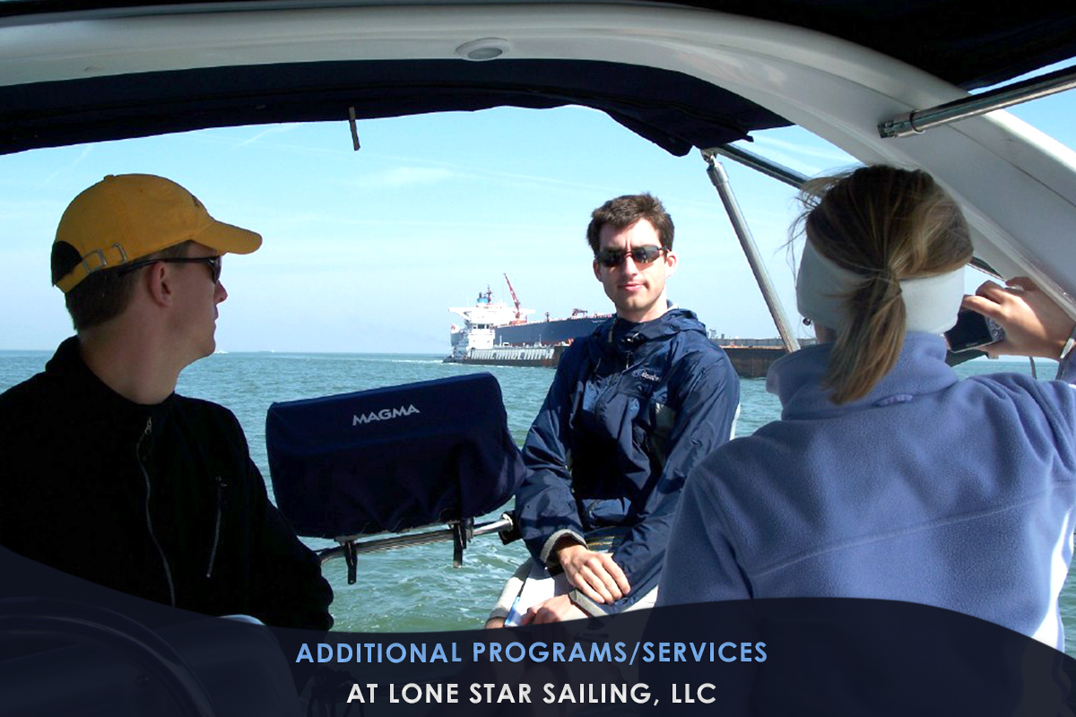 Additional Programs/Services at Lone Star Sailing, LLC