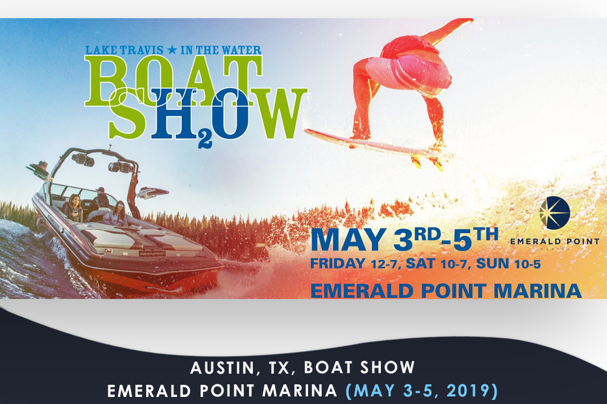 Austin-TX- Boat Show Emerald Point Marina (MAY 3-5 2019)