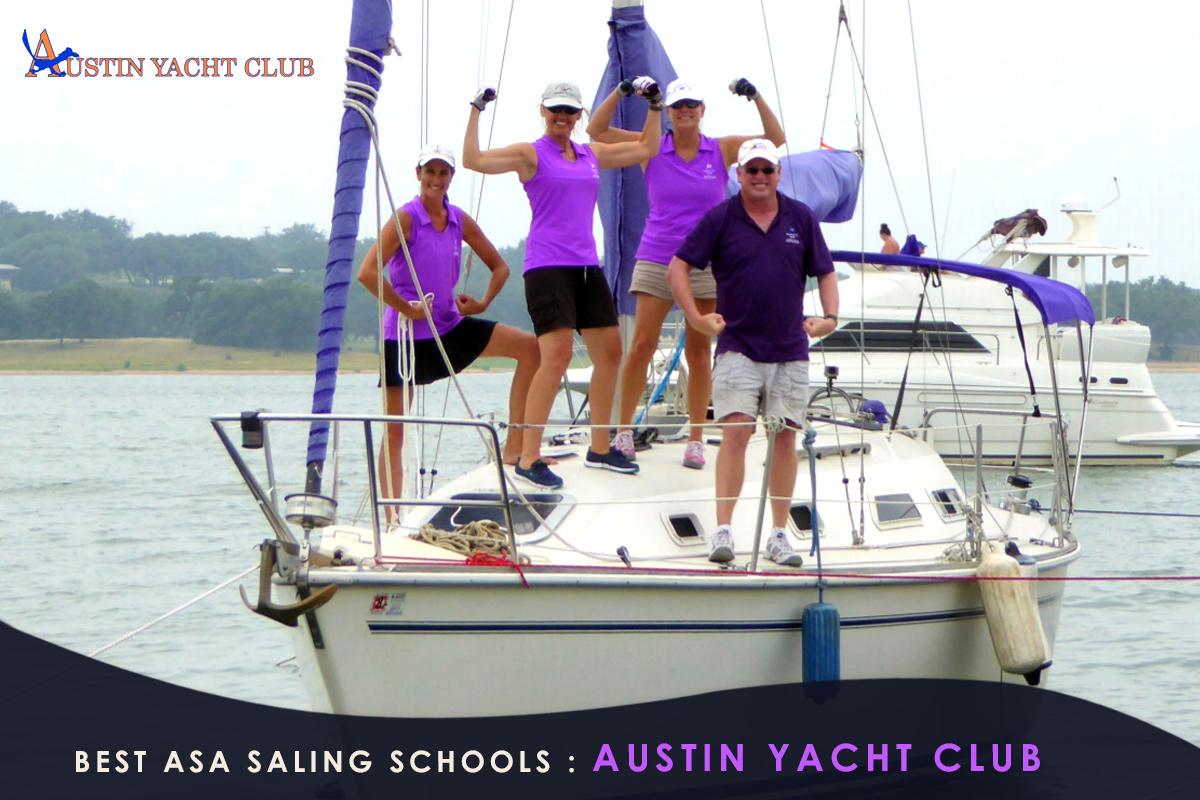 Best ASA Saling Schools-Austin Yacht Club