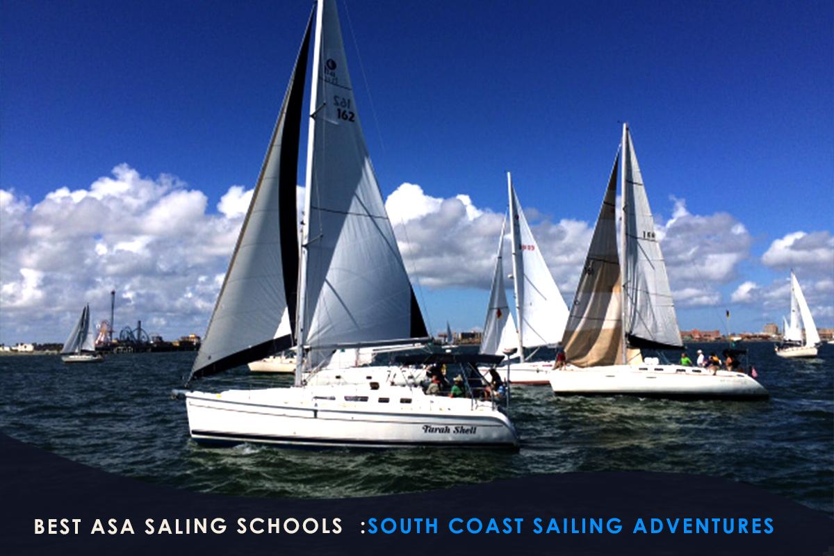 Best ASA Saling Schools -South Coast Sailing Adventures