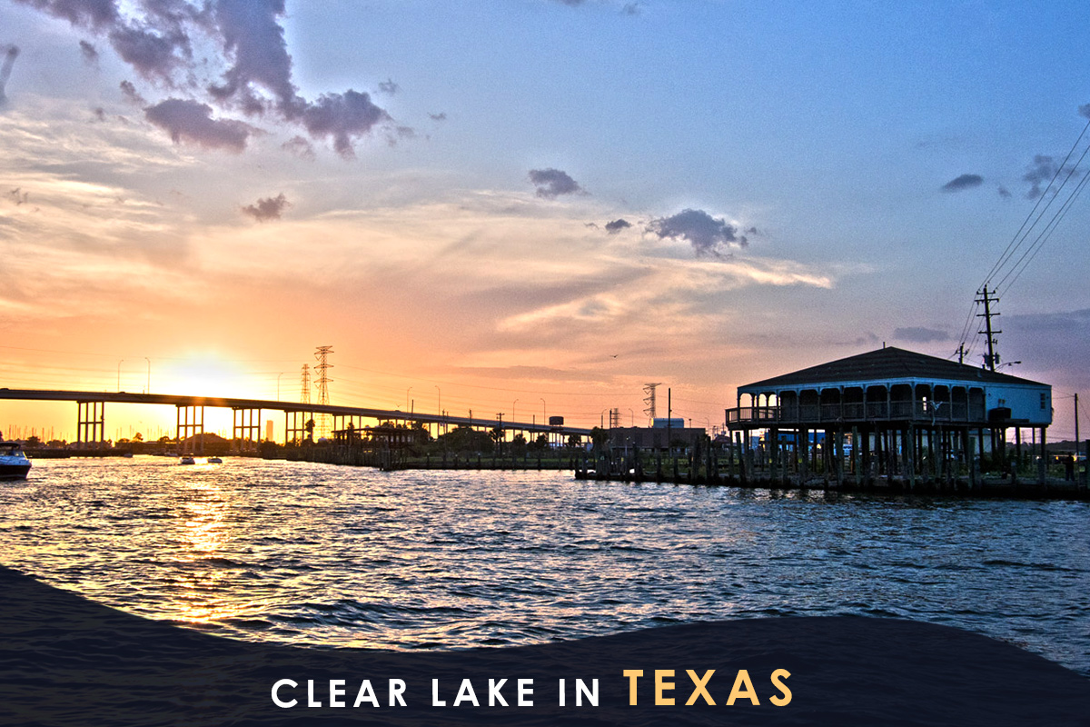 Clear Lake in Texas