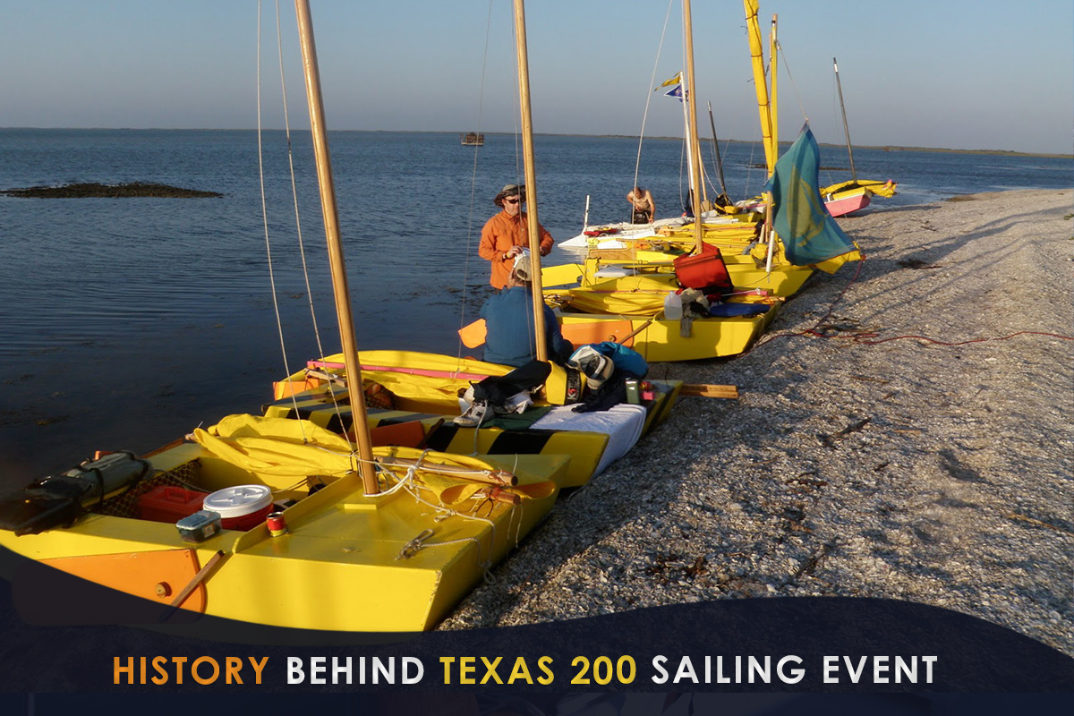 History Behind Texas 200 Sailing Event
