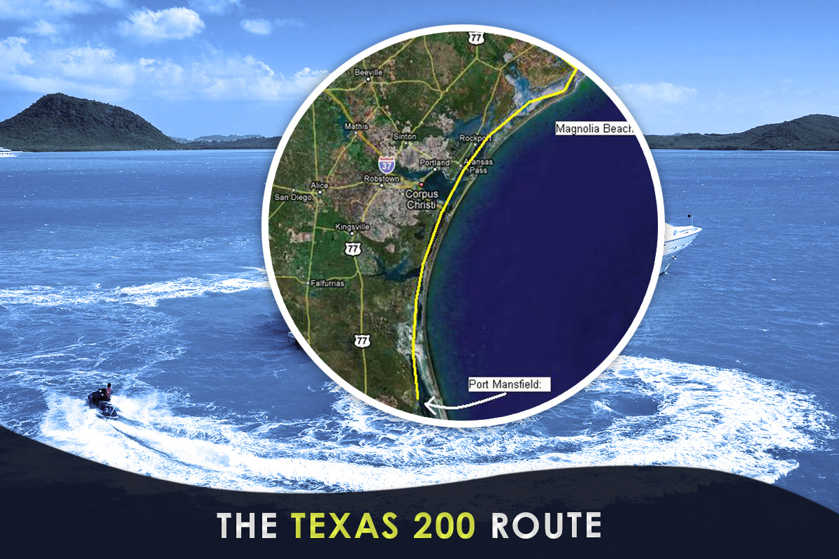 The Texas 200 Route