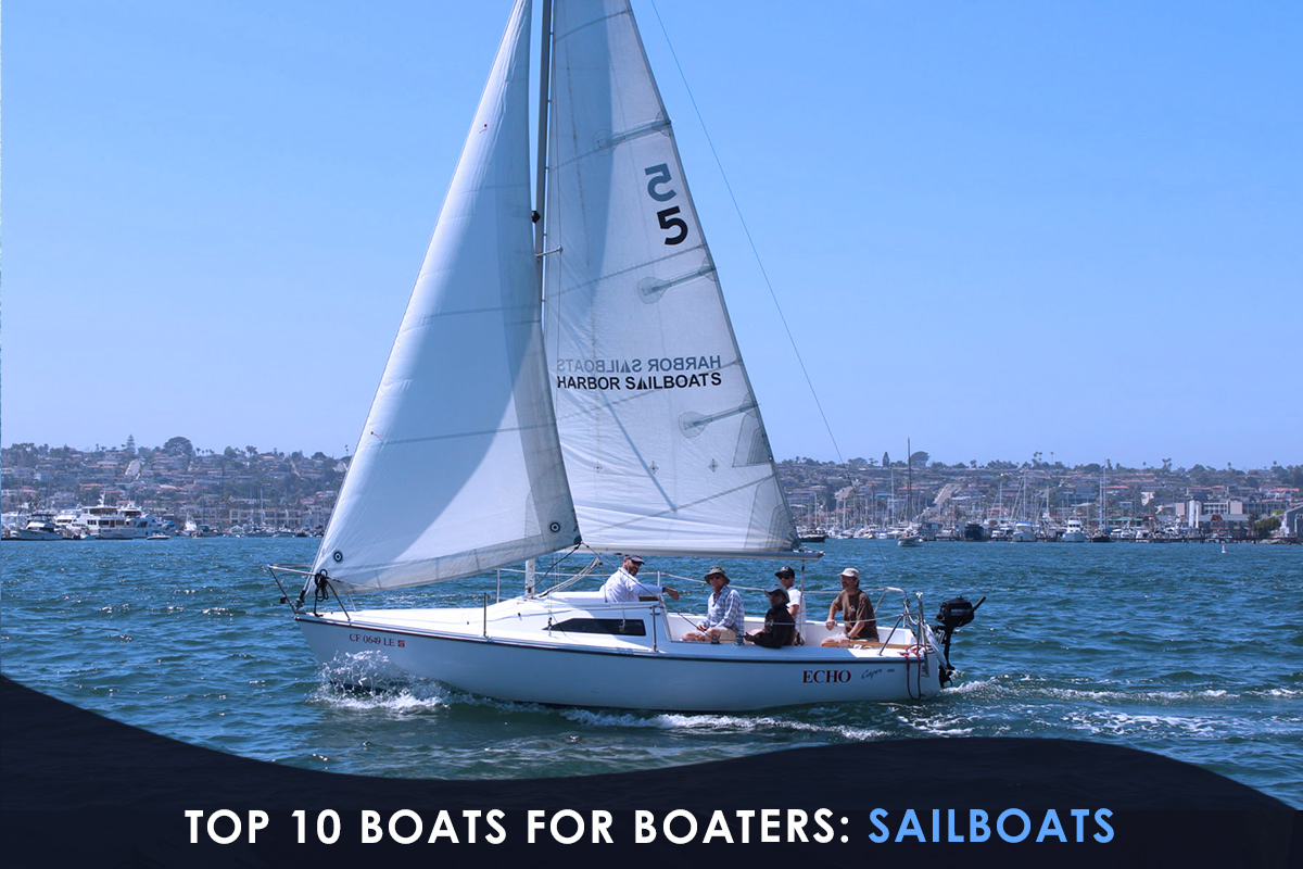 Top 10 Boats for Boaters-Sailboats