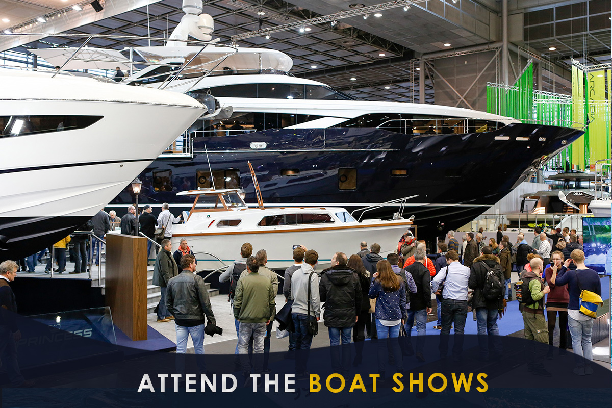 Attend the Boat Shows