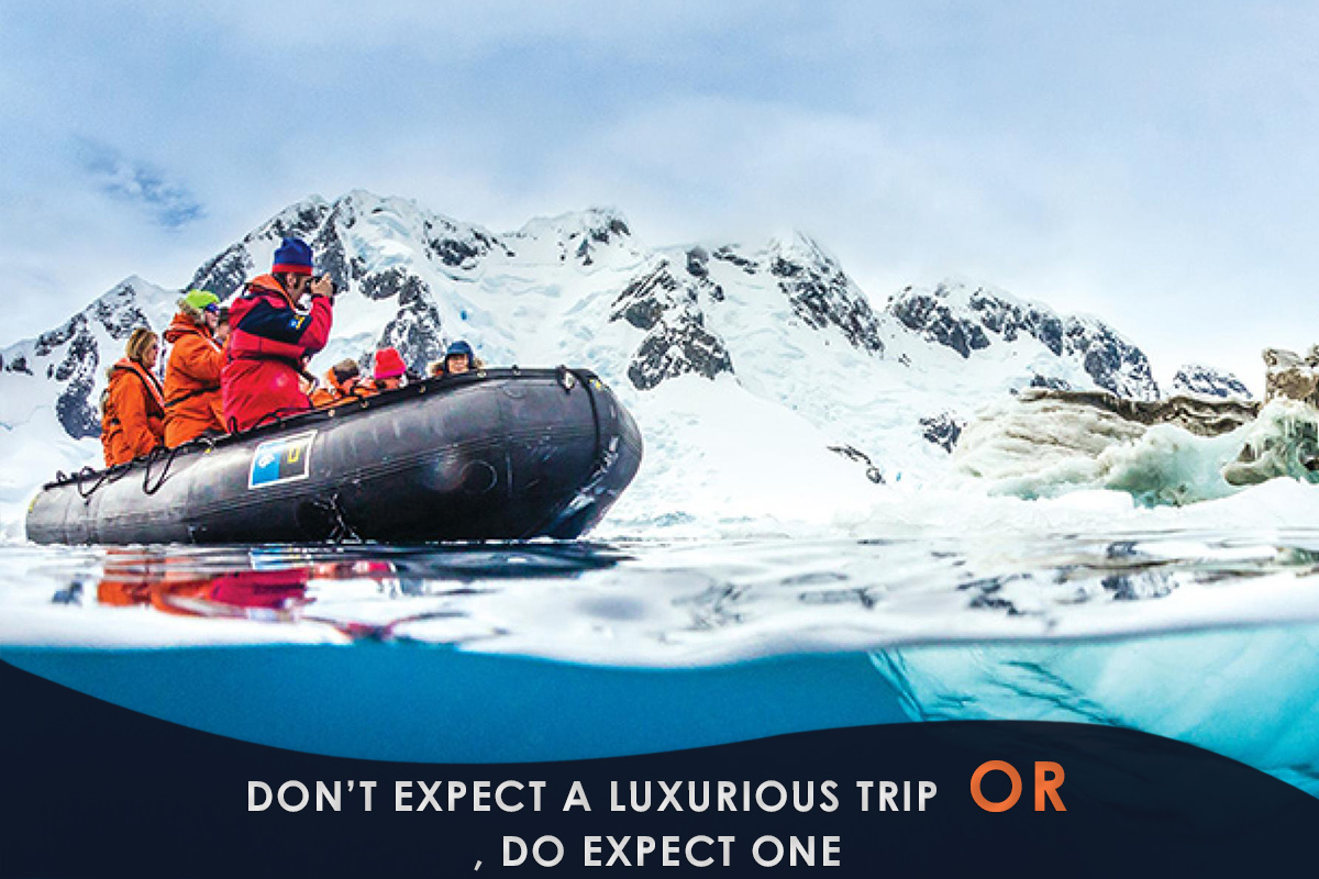 Don't Expect a Luxurious Trip – or, Do Expect One
