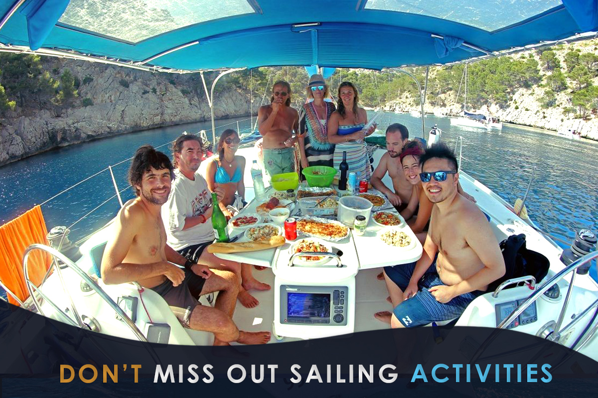 Don't miss Out Sailing Activities