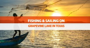 Fishing & Sailing on Grapevine Lake in Texas