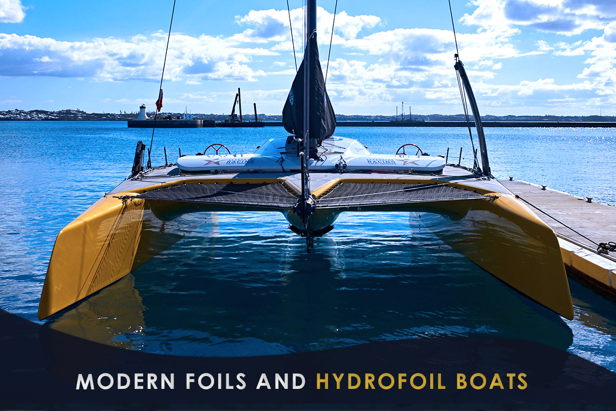 Modern Foils and Hydrofoil Boats