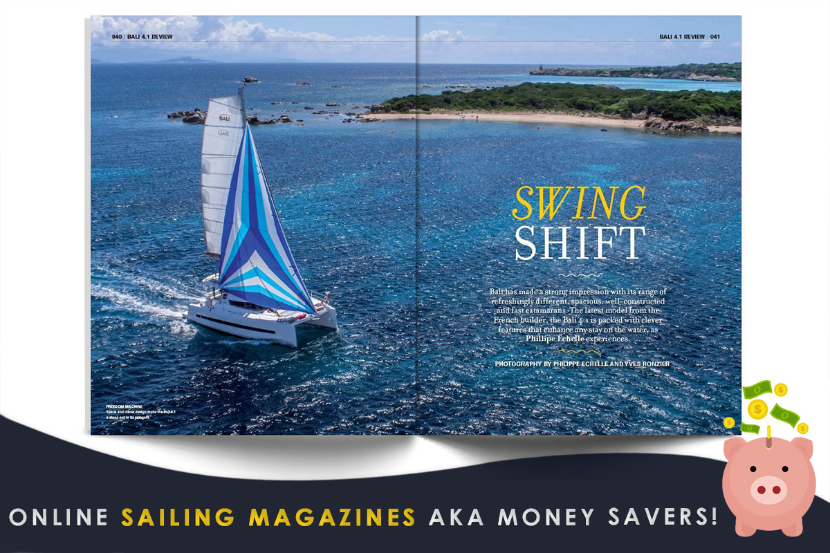 Online Sailing Magazines AKA Money Savers!