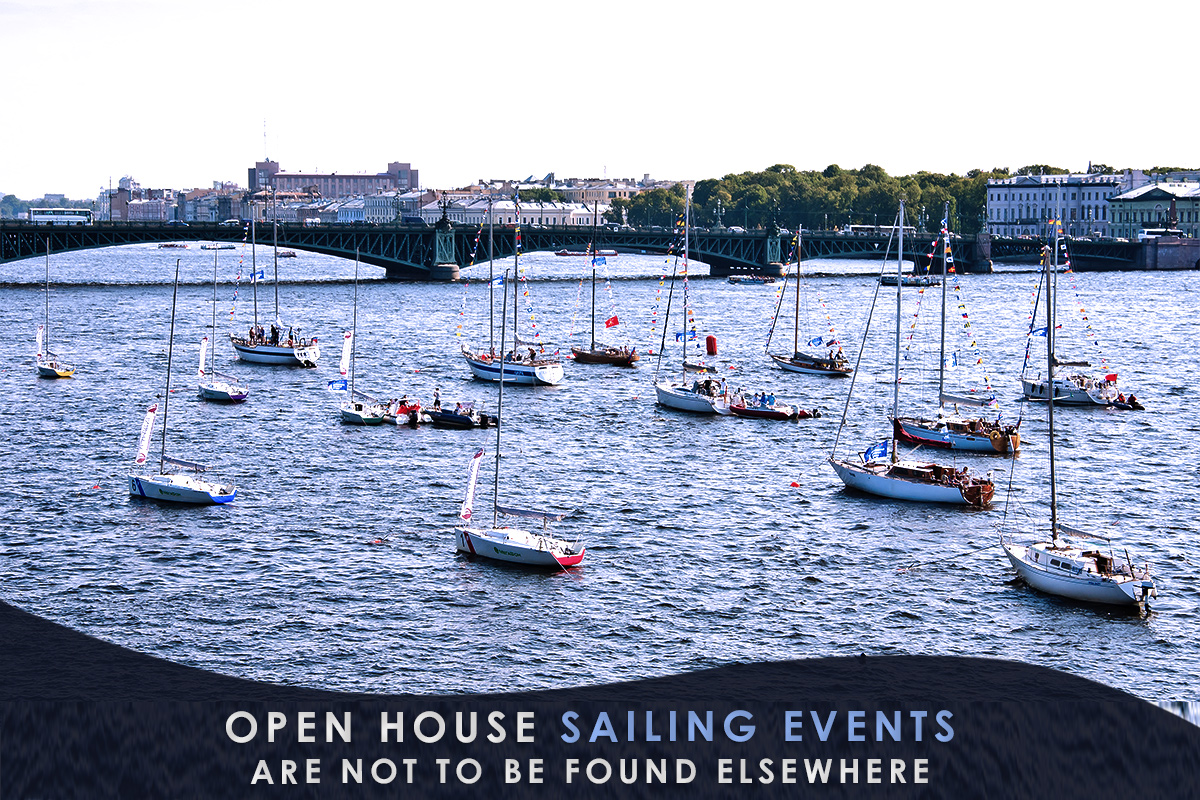Open House Sailing Events Are Not to Be Found Elsewhere
