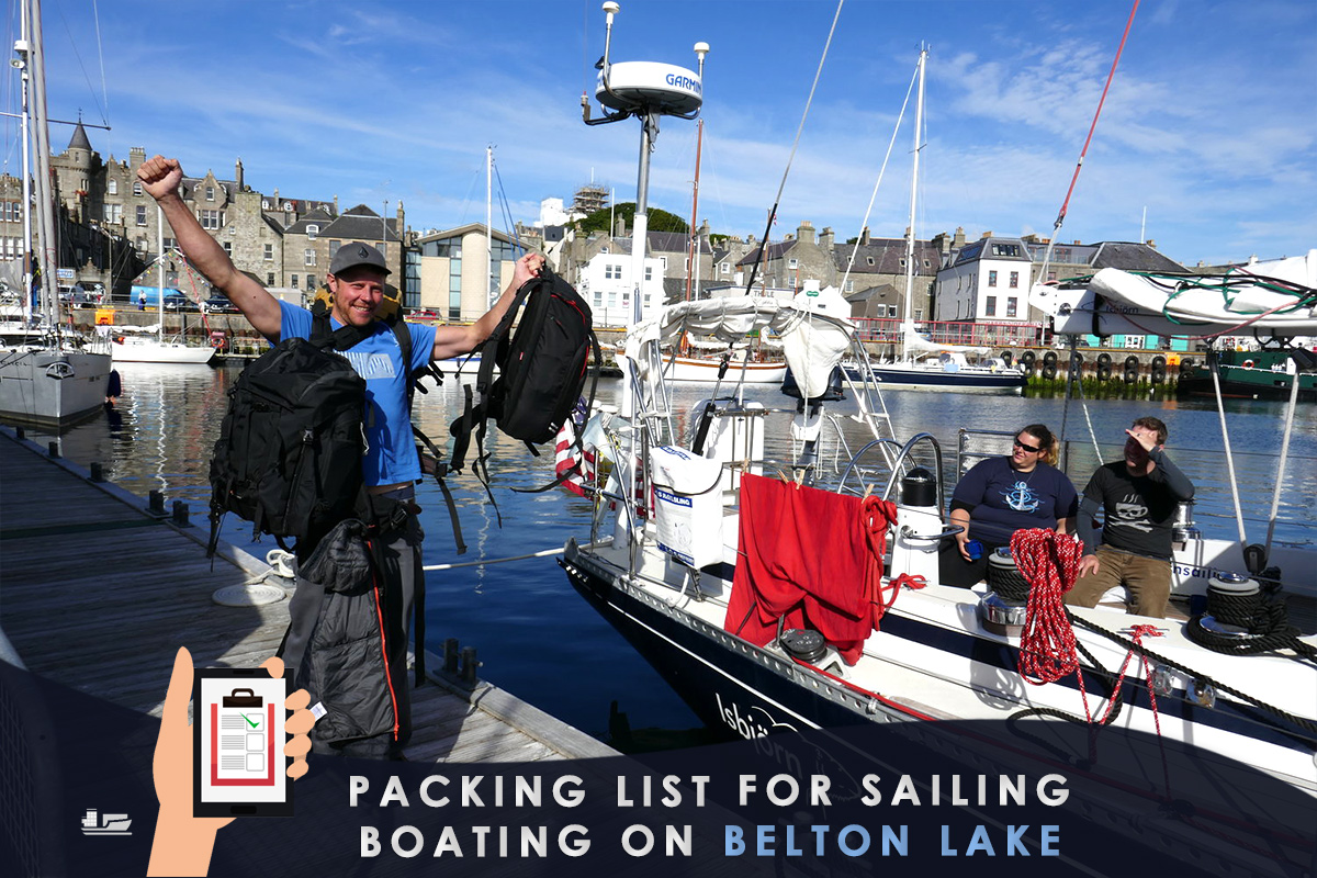 Packing List for Sailing/Boating on Belton Lake