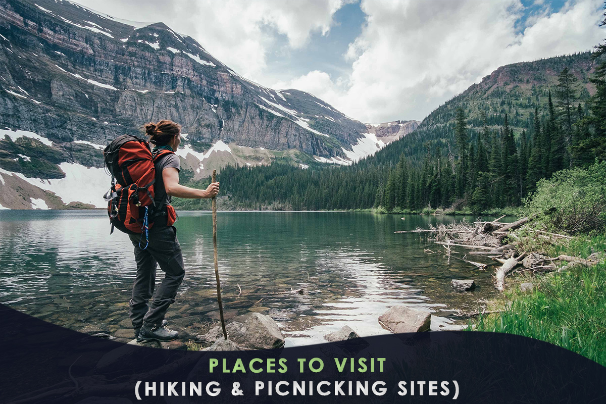 Places to Visit (Hiking & Picnicking Sites)