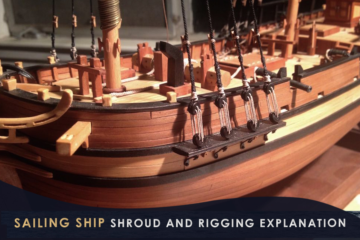 Sailing Ship Shroud and Rigging Explanation