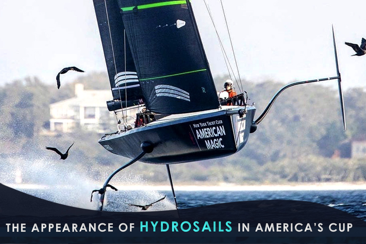 The Appearance of Hydrosails in America's Cup