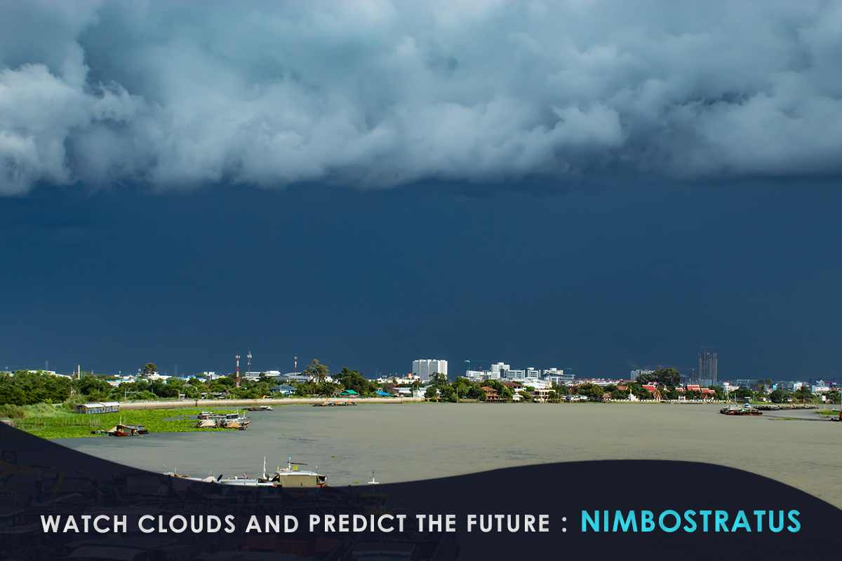 Watch Clouds and Predict the Future-Nimbostratus