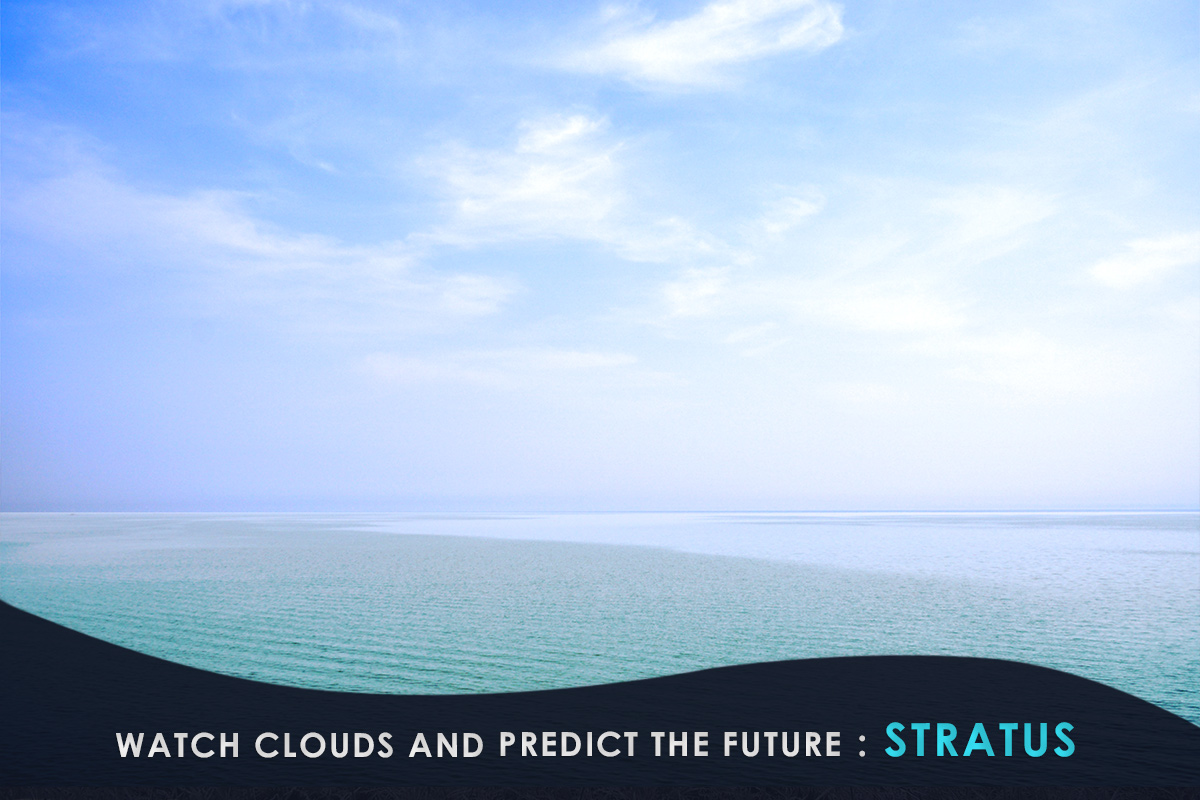 Watch Clouds and Predict the Future-Stratus