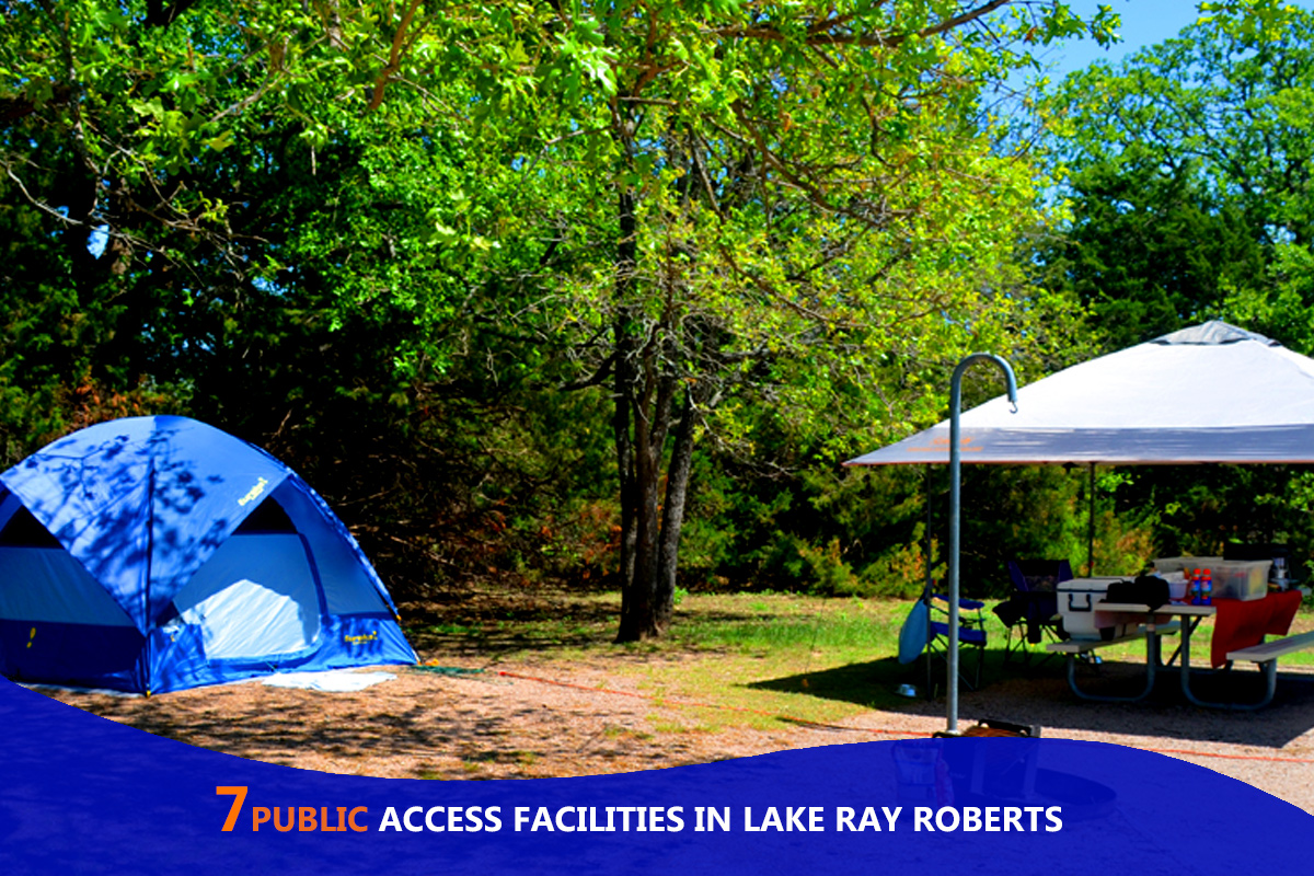 7 Public Access Facilities in Lake Ray Roberts