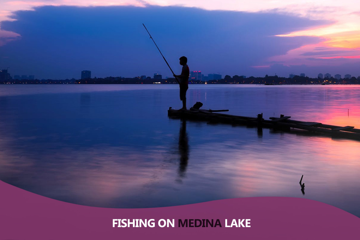 Fishing on Medina Lake