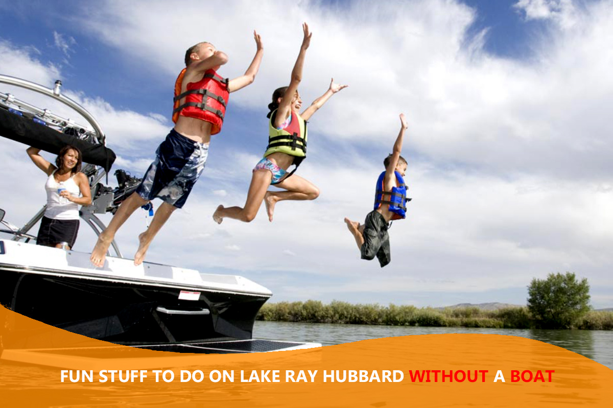 Fun Stuff to Do on Lake Ray Hubbard Without a Boat