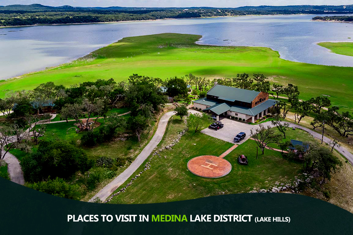 Places to Visit in Medina Lake District (Lake Hills)