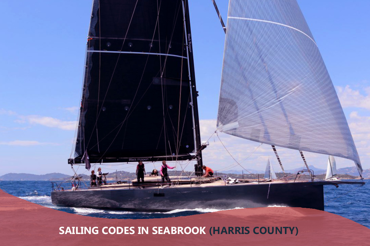 Sailing Codes in Seabrook (Harris County)
