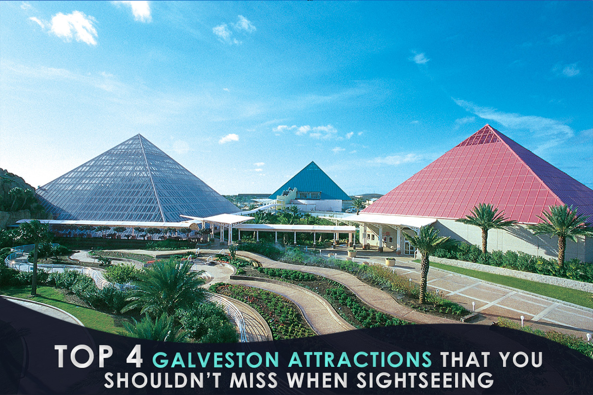 Top 4 Galveston Attractions That You Shouldn't Miss When Sightseeing