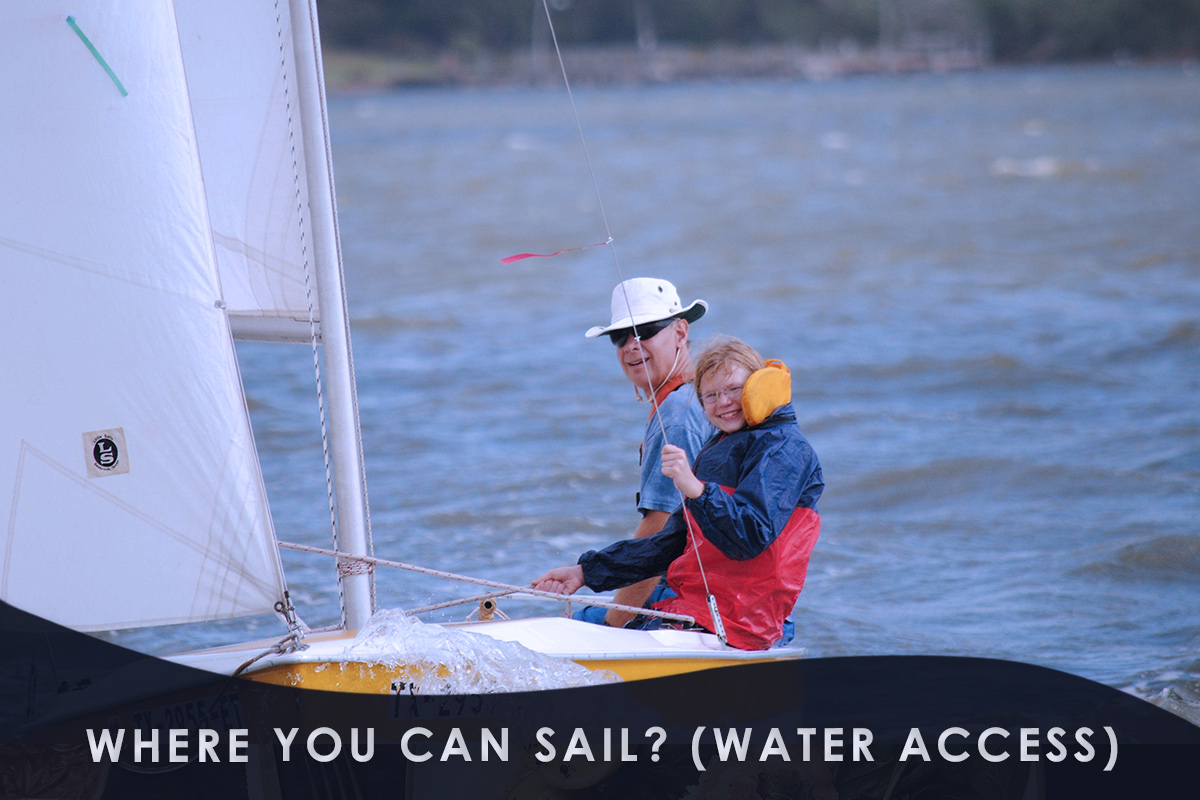Where You Can Sail? (Water Access)